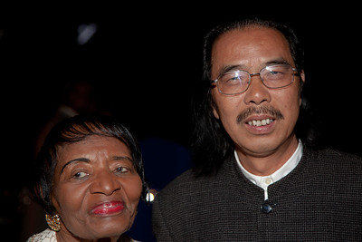 Christine King Farris is the eldest and only living sibling of the late Rev. Martin Luther King, Jr. Chinese sculpture master Lei Yixin