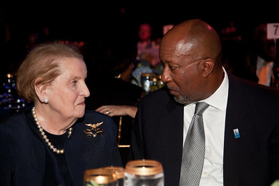 former Sec. of State Madeleine Albright US Trade Representative Ron Kirk