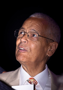 Julian Bond, known is an American social activist and leader in the American civil rights movement, politician, professor, and writer. While a student at Morehouse College in Atlanta, Georgia, during the early 1960s, he helped found the Student Nonviolent Coordinating Committee (SNCC). He was the first president of the Southern Poverty Law Center. Bond was elected to both houses of the Georgia legislature, where he served a total of 20 years. He was chairman of the National Association for the Advancement of Colored People (NAACP) from 1998 to 2010.
