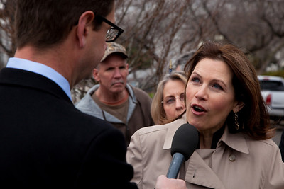 Rep. Michele Bachmann and Griff Jenkins (Fox)