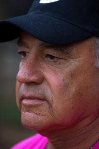 Rep. Joe Baca (D-CA) coached the Members squad