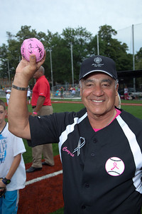 Member Coach Rep. Joe Baca (D-CA) The autographed softball to be sent to Rep. Gabby Giffords (D-AZ)