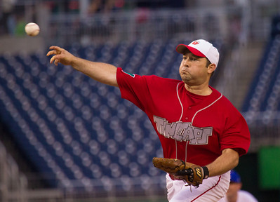 Rep. Marlin Stutzman (R-IN) was the Republican starting pitcher