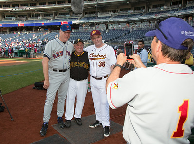 Joe Crowley (D-NY-07), Mike Doyle (D-PA-14), Daniel Kildee (D-MI-05) - Ed Perlmutter (CO-07) taking picture
