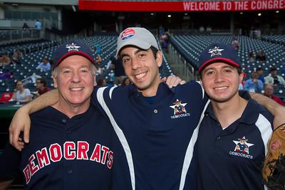 Democratic coaches Joe Foley, David Heifetz and Adam Lowenstein