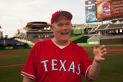 Rep. Pete Sessions is the third base coach for the Republican baseball squad.