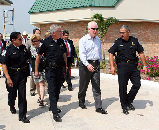 News Conference with Senator Cornyn at Anzalduas Bridge