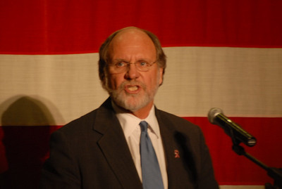 Corzine/Clinton Rally