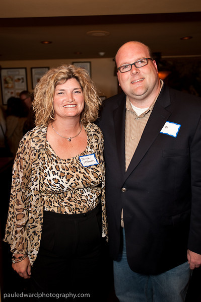 Blair Farley with City Attorney Jennifer McGrath