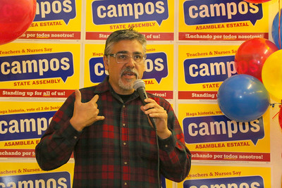 District 11 Supervisor John Avalos speaking about why David Campos should be supported.
