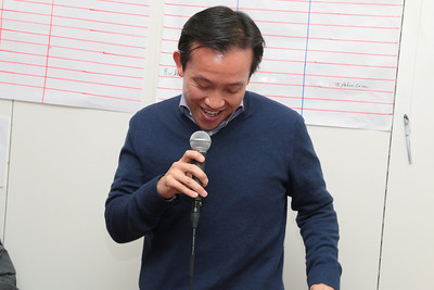 David Chiu was a bit humbled at the huge and intense outpouring of support from his fans.