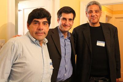 Juan Soto, David Onek, Lou Gordon.