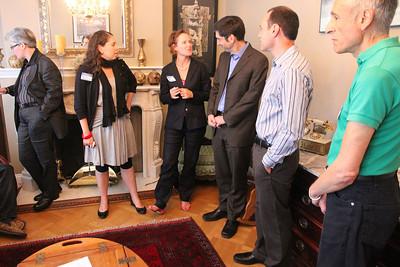 Left to right: Kary McElroy, Maria Navarro, Thea Selby, David Onek, Barak, Nikos Diaman.
