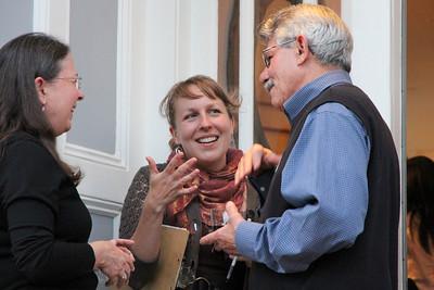 Left to right: Laurel Muñiz, Emily Peck, Jose L Muniz.