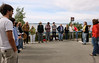 Anchorage MoveOn holds a vigil in support of victims of the Deepwater Horizon oil blowout in the Gulf of Mexico