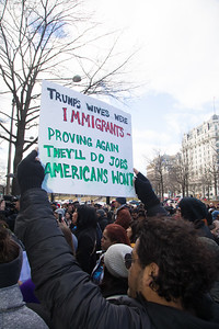 Trump, Immigration, protest