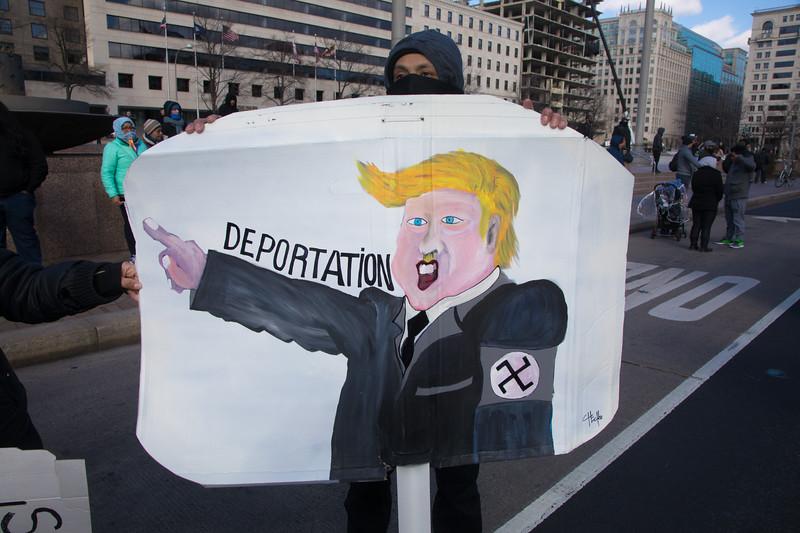 Trump, Immigration, protest
