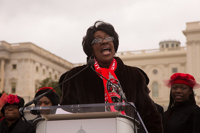 Reverend Dr. Gwendolyn Boyd, former president of Delta Sigma Theta