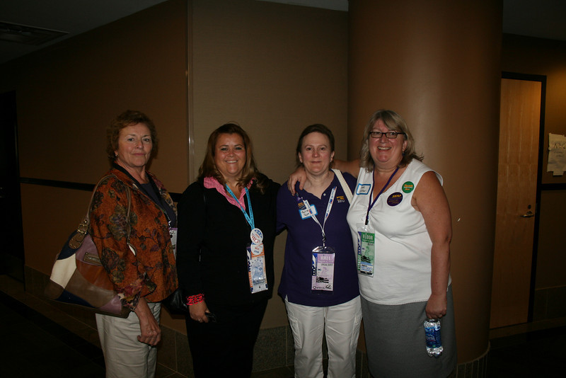 Iowa friends of mine at the Democratic National Convention in Denver Monday, August 25, 2008. (Anne-Marie Taylor)
