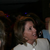House Speaker Nancy Pelosi at the Democratic National Convention in Denver Monday, August 25, 2008. (Anne-Marie Taylor)