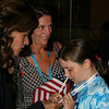 California First Lady Maria Shriver at the Democratic National Convention in Denver Monday, August 25, 2008. (Anne-Marie Taylor)