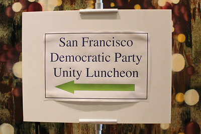 Democratic Unity Lunch on Monday June 6th, 2011 at the Intercontinental Hotel, 888 Howard Street, San Francisco.