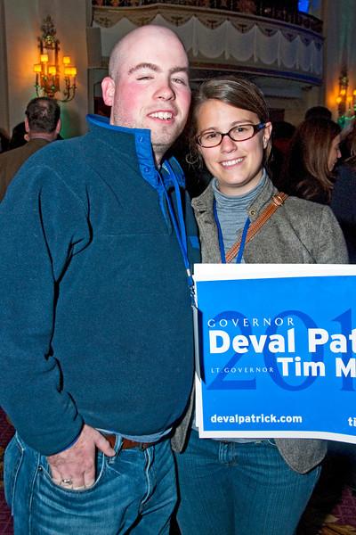 Election Night Victory Party, Park Plaza Hotel, Boston, MA, Nov 2, 2010