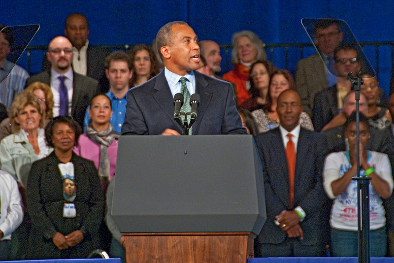 Deval Patrick Rally with President Barack Obama, Hynes Auditorium, Boston, MA Oct 17, 2010