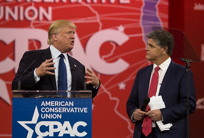 Donald Trump, Sean Hannity