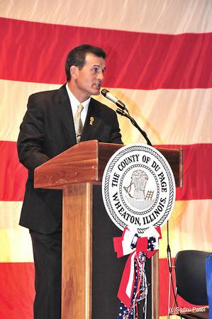 DuPage County Board Member Dirk Enger