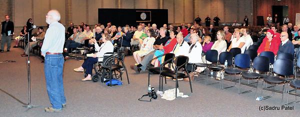 Milt Wasserman, Wheaton waits to address the Panel