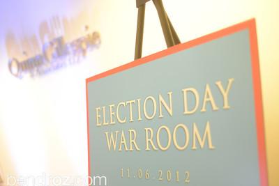 ELECTION DAY- QGA Board Room