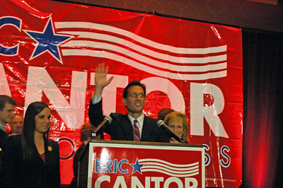 ERIC CANTOR'S VICTORY CELEBRATION