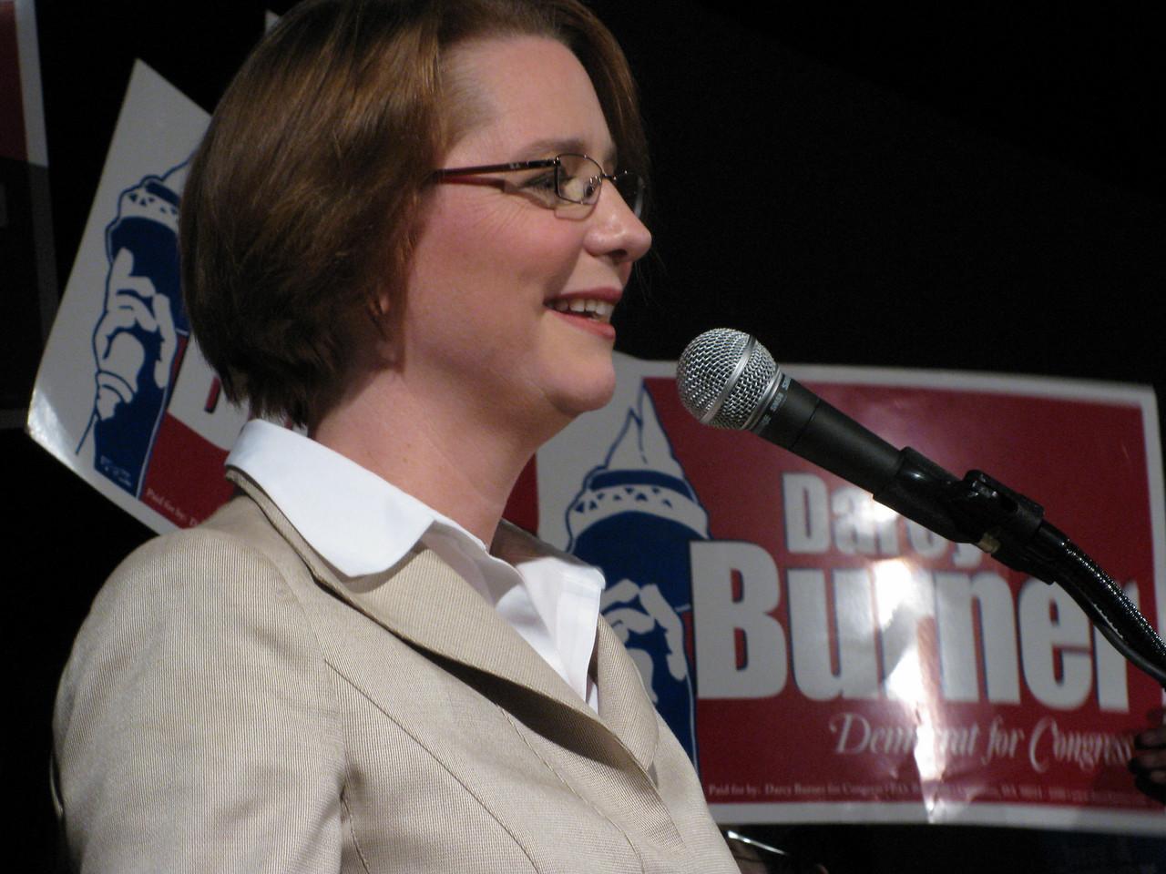 Darcy Burner (my new congresswoman?)