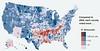 Democratic Shift - map