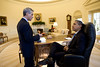 Obama Emanuel Oval Office 090121