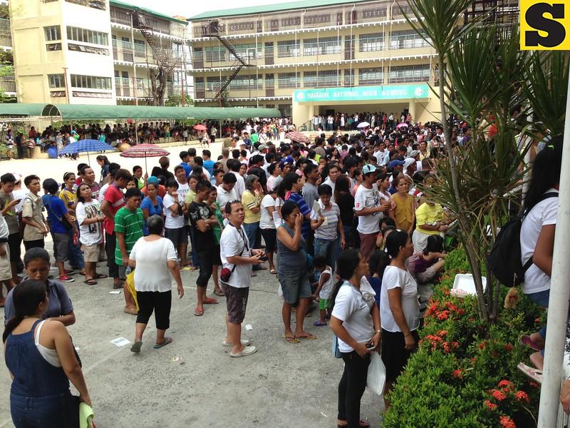 Paranaque National High School, Paranaque City.