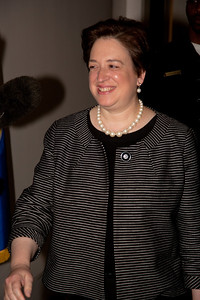 Supreme Court nominee Elena Kagan was on Capitol Hill for a round of informal meet-and-greets with key Senators on Capitol Hill in Washington DC. on May 13, 2010. (Photo by Jeff Malet)
