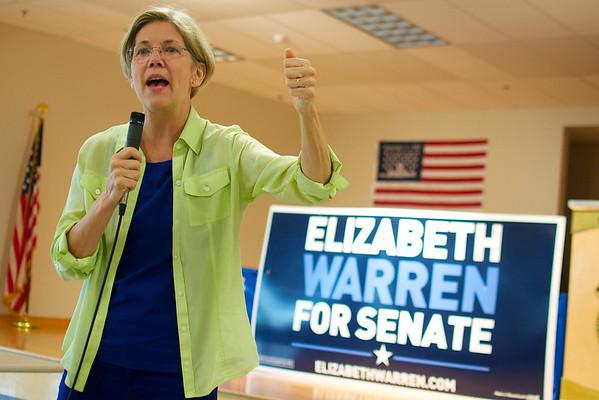 Elizabeth Warren Worcester campaign stop