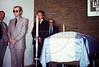 Velorio del ex presidente Hector J. Campora, Mexico D.F. Mexico, Diciembre 20, 1980. (Austral Foto/Renzo Gostoli)<br /> ARCHIVO ORIGINAL EN MAL ESTADO