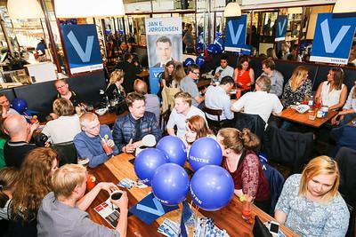 Midtvejsmøde med Løkke og Jørgensen på Den Blå Hund