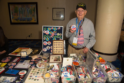 "Frank Enten, the ""Button Man"""
