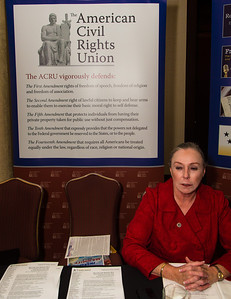 American Civil Rights Union booth