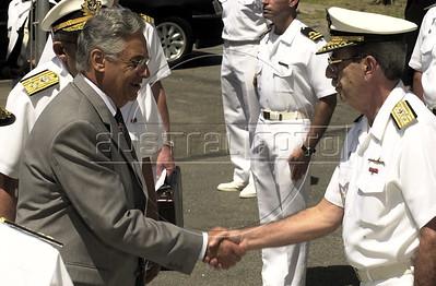 Brazilian President Fernando Henrique Cardoso in 2000. Cardoso, born in 1931 was President of Brazil from 1995 to 2002. (Australfoto/Douglas Engle)