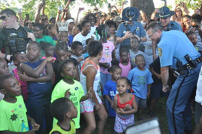 'First Steps Cookout' at McAdams Park July 17, 2016