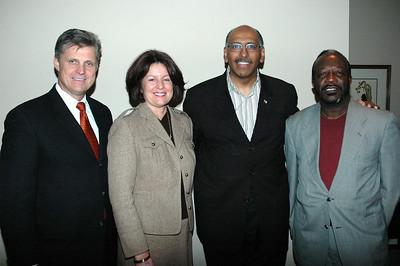 Congressman Todd Tiahrt, Vicki Tiahrt, Michael Steele, and Joseph Elmore.