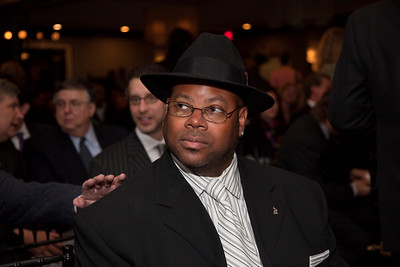 "Jimmy Jam attends the Recording Academy sponsored GRAMMYS on the Hill reception and awards at the Liaison Capitol Hill Hotel in Washington DC on April 14, 2010. GRAMMYs on the Hill is called ""Washington's most interesting mix of music and politics."" The two days of music advocacy connects top music makers with members of Congress in Washington, D.C., in an effort to inform policy makers of the important role the recording arts play in the nation's culture and economy, and to raise the profile of the recording arts during meetings with legislators. (Photo by Jeff Malet)"