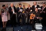 Sen. Dick Durbin (D-Ill.), Reps. Darrell Issa (R-Calif.), Sheila Jackson Lee (D-Tex.), Darrell Issa (R-CA), Joe Crowley (D-NY), CBS' Bob Schieffer, Marc Roberge and others sing