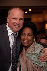 "Solo artist of the century Garth Brooks and Congresswoman Sheil Jackson Lee at Recording Academy sponsored GRAMMYS on the Hill reception and awards at the Liaison Capitol Hill Hotel in Washington DC on April 14, 2010. GRAMMYs on the Hill is called ""Washington's most interesting mix of music and politics."" The two days of music advocacy connects top music makers with members of Congress in Washington, D.C., in an effort to inform policy makers of the important role the recording arts play in the nation's culture and economy, and to raise the profile of the recording arts during meetings with legislators. (Photo by Jeff Malet)"