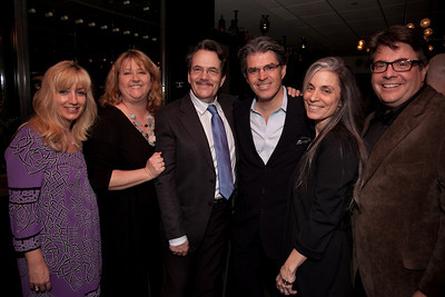 "A New York delgation - Karen Brinton (Pres. Remote Recording), Linda Lorence-Critelli (SESAC), Phil Galdston (song writer), Steve Sterling (NY Chapter Recording Academy), Judy Tint (lawyer), Joe D'Ambrosio Joe D'Ambrosio Management, Inc.) attend the Recording Academy sponsored GRAMMYS on the Hill reception and awards at the Liaison Capitol Hill Hotel in Washington DC on April 14, 2010. GRAMMYs on the Hill is called ""Washington's most interesting mix of music and politics."" The two days of music advocacy connects top music makers with members of Congress in Washington, D.C., in an effort to inform policy makers of the important role the recording arts play in the nation's culture and economy, and to raise the profile of the recording arts during meetings with legislators. (Photo by Jeff Malet)"